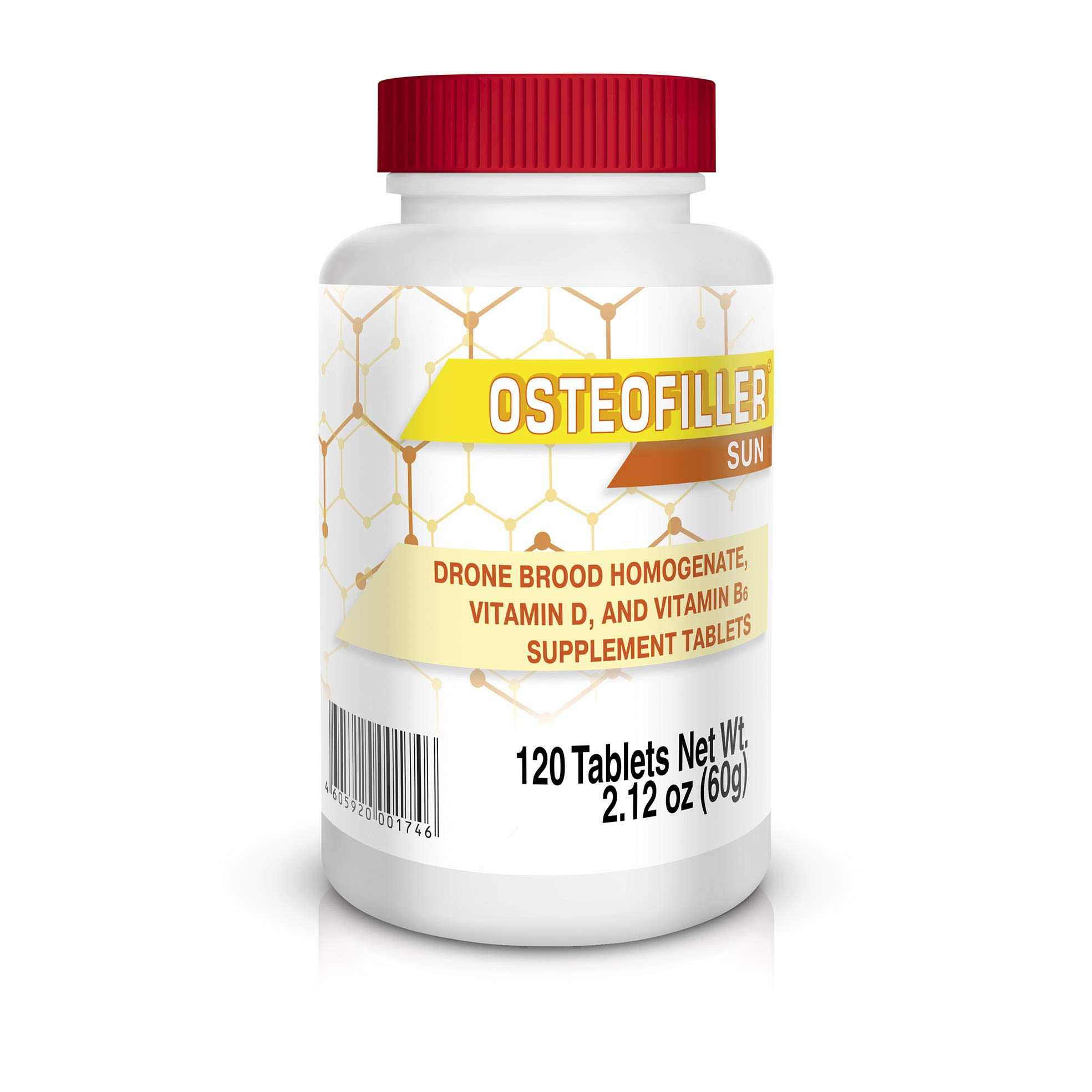 Osteofiller Sun - New Generation Vitamins for strengthening of Bones and Increase of Immunity at Insufficient Sunlight Exposure and Risk of hypercalcemia by Osteofiller