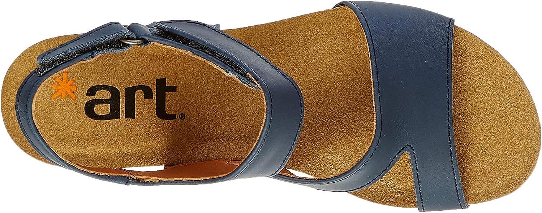 art Damen Güell Peeptoe Sandalen, Schwarz Blau Jeans Jeans