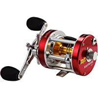 KastKing Rover Round Baitcasting Reel - No.1 Highest Rated Conventional Reel - Reinforced Metal Body & Supreme Star Drag