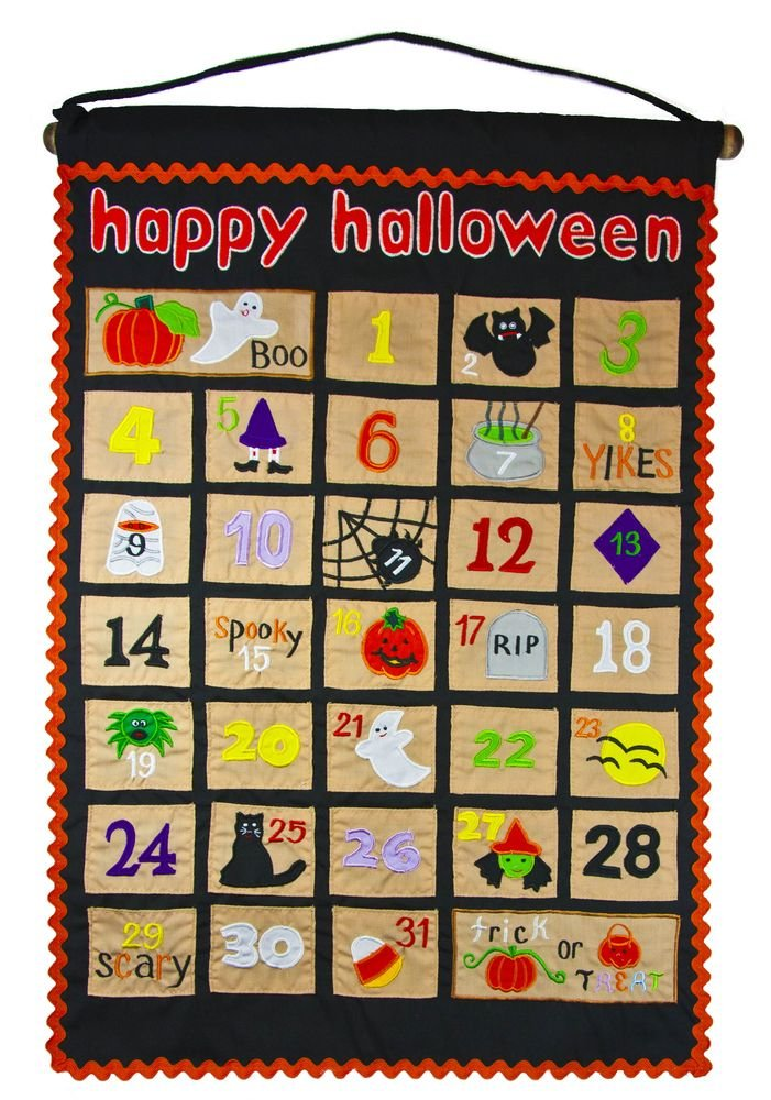 Halloween Countdown Calendar by My Growing Season