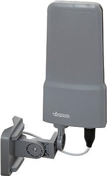 TALLA 42dB Verstärkung aktiv. Vivanco TVA 500 Mono - Antena (Gris, Mono, 42 dBi, DAB, 8,5 m)