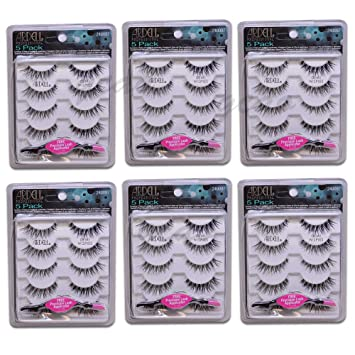 e915e188231 Amazon.com: (30 Pairs) Ardell Lashes 5 Pairs/Pack Demi Wispies - FREE  APPLICATOR: Beauty