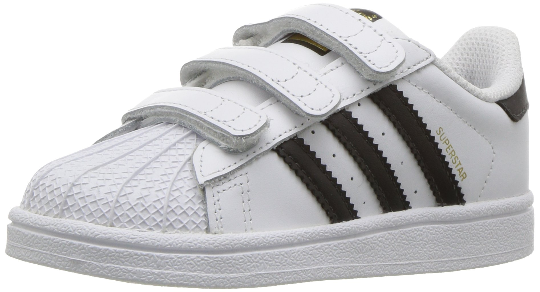 new product cdac3 6a1f4 Galleon - Adidas Originals Baby Superstar CF I Running Shoe, Core Black White,  5 M US Toddler