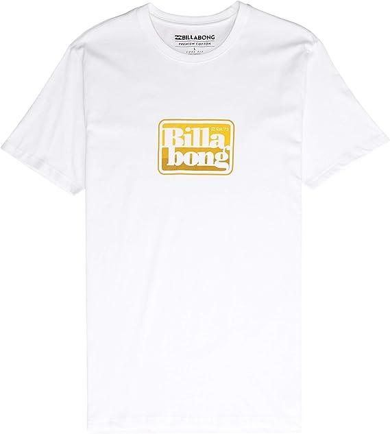 Bilabong Keyline - Camiseta de manga corta, color blanco Blanco blanco M: Amazon.es: Ropa y accesorios