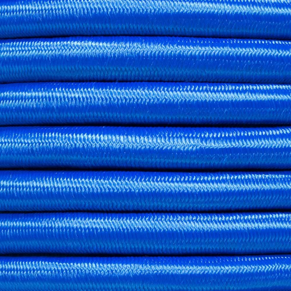 PARACORD PLANET Elastic Bungee Nylon Shock Cord 2.5mm 1/32'', 1/16'', 3/16'', 5/16'', 1/8'', 3/8'', 5/8'', 1/4'', 1/2 inch Crafting Stretch String 10 25 50 & 100 Foot Lengths Made in USA