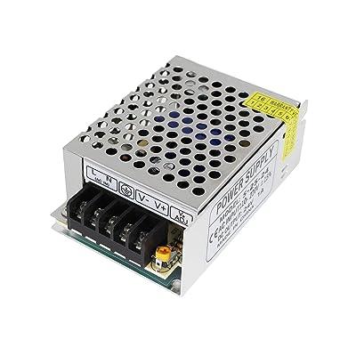 Aiposen 110V/220V AC to DC 24V 1A 24W Switch Power Supply Driver,Power Transformer for CCTV Camera/Security System/LED Strip Light/Radio/Computer Project(24V 1A): Camera & Photo