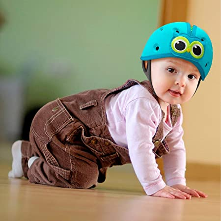 Kopfschutz f/ür Babys Babyhelm Eule