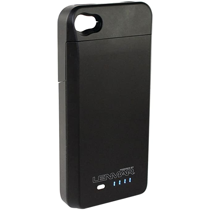 the latest 79fe4 f311c Lenmar BC4 - External Protective Extended Battery Case for iPhone 4 /  iPhone 4s