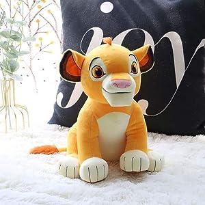 Eden Fghk Cute 1pcs Sitting High 26cm Simba The Lion King Plush Toys Simba Soft Stuffed Animals Doll for Children Gifts