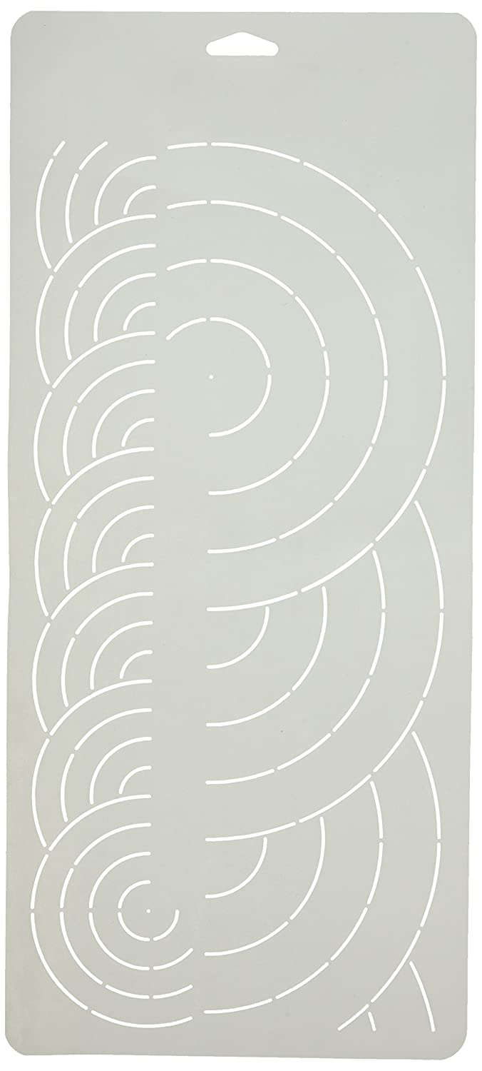 Sten Source Quilt Stencils, 2-Inch and 4-Inch Borders, 8-Inch x 18-Inch Notions - In Network W-1028