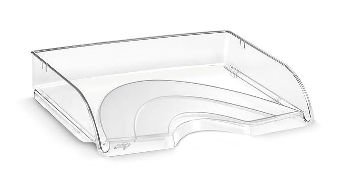CEP CepPro - Bandeja apaisada compacta, 1 unidad, color cristal: Amazon.es: Oficina y papelería