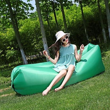 Sofa Hinchable Impermeable Portátil Aire Libre Aire Tumbona ...