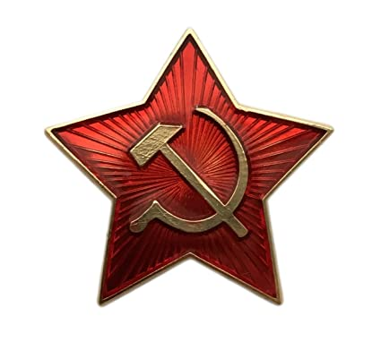 062fa871bf3 Ganwear® Soviet USSR Russian Army Military Small RED Star Ushanka Hat Cap  Beret Pin Badge Kokarda  Amazon.co.uk  Kitchen   Home
