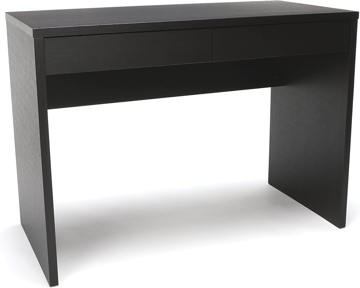 OFM Essentials Collection 2-Drawer Solid Panel Office Desk, in Espresso