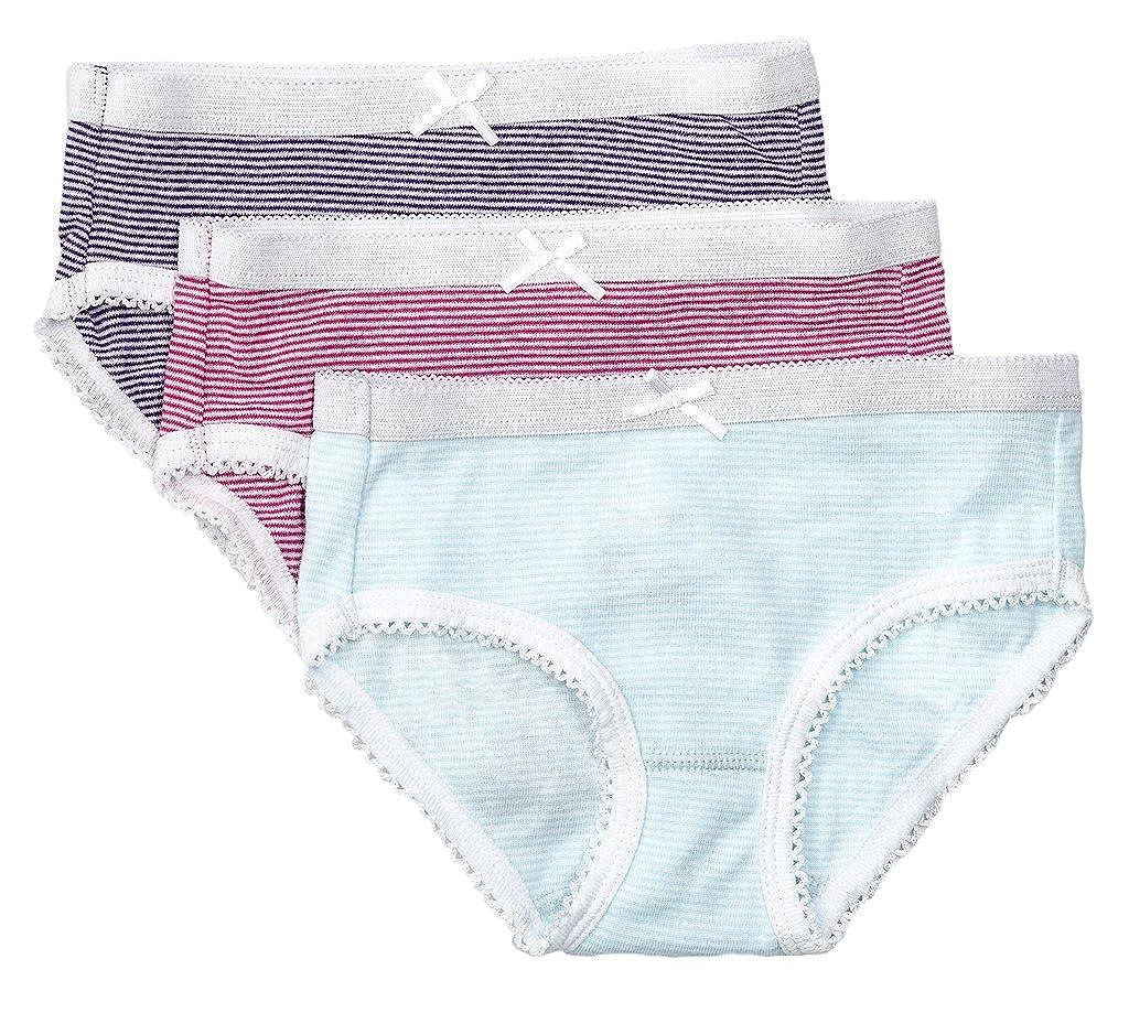 495e0aa03c9 Feathers Girls Multi Stripe Tagless Briefs Underwear Super Soft Panties  3-Pack