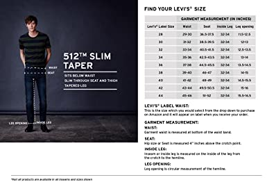 524328687bf Levi's Men's (512) Slim Tapered Fit Jeans (36087-0006_Blue_42): Amazon.in:  Clothing & Accessories
