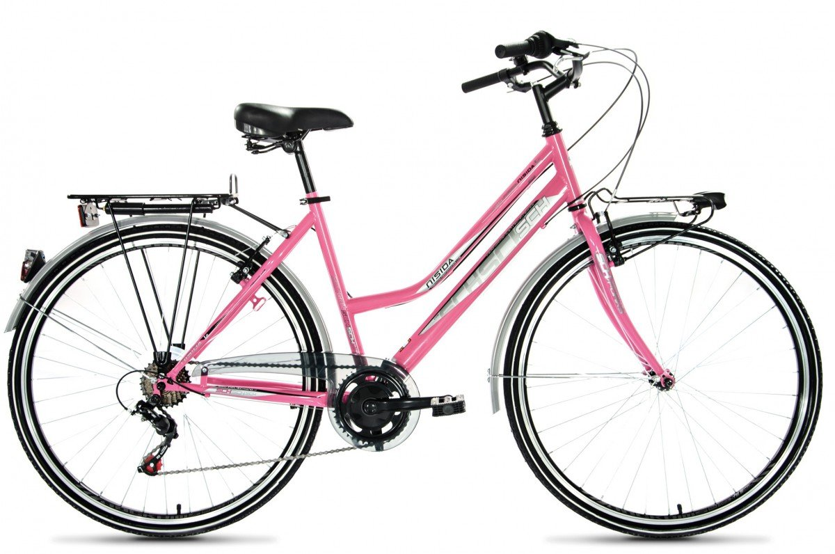 F.lli Schiano CTB Trekking Nisida Bicicleta, Mujer, Rosa, 28 ...