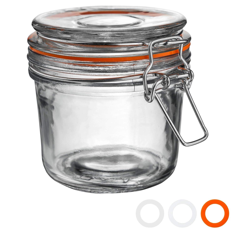Argon Tableware Bote de Cocina para almacenar Alimentos - Cristal ...