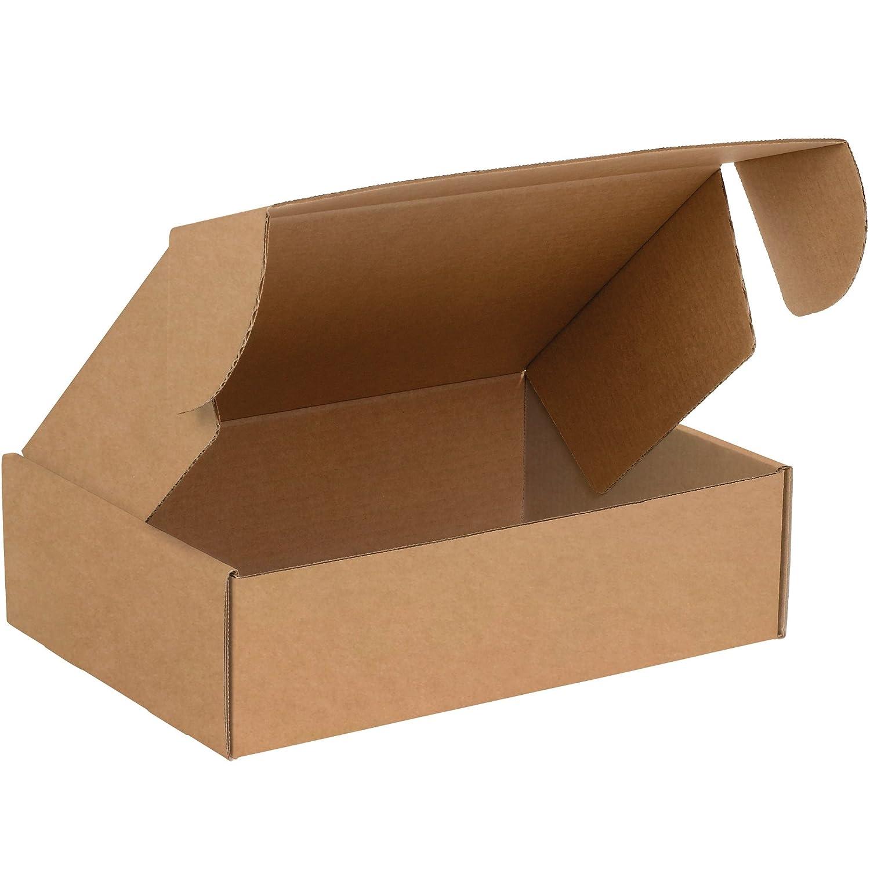 Pack of 50 BOX USA BMFL1293K Deluxe Literature Mailers 12 1//8 x 9 1//4 x 3 Kraft 12 1//8 x 9 1//4 x 3