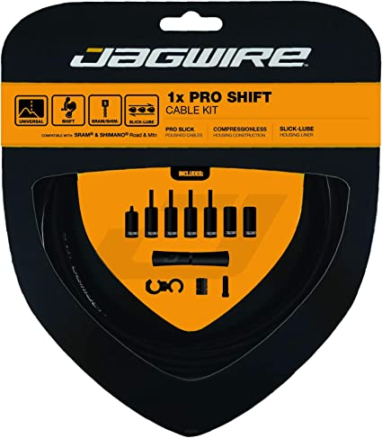 Jagwire Complete Universal Road MTB Brake Stainless Shift Cable//Housing Kit 4//5m