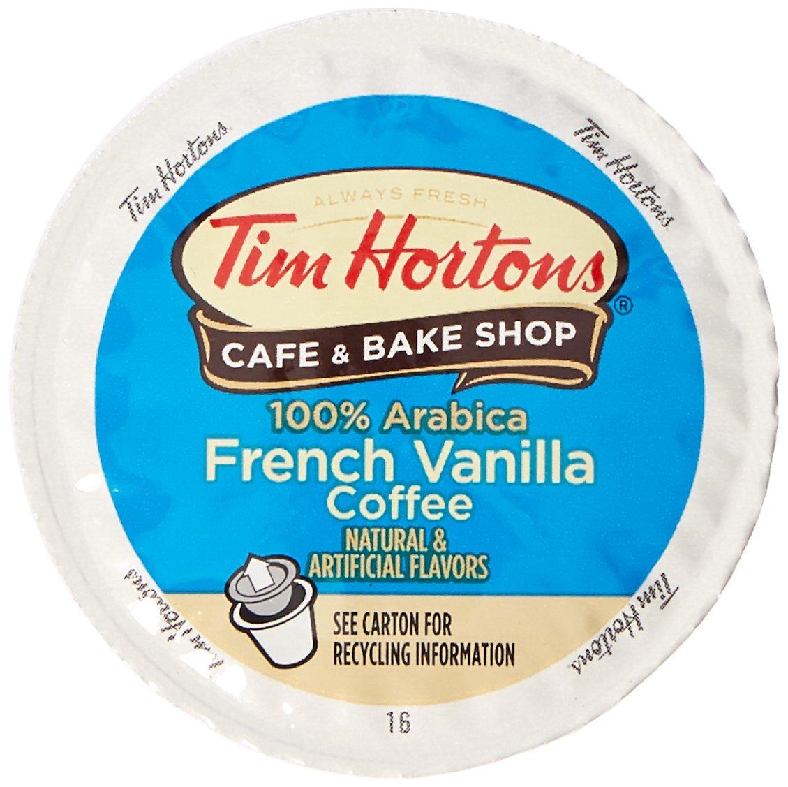 Tim Hortons French Vanilla, 48 Count