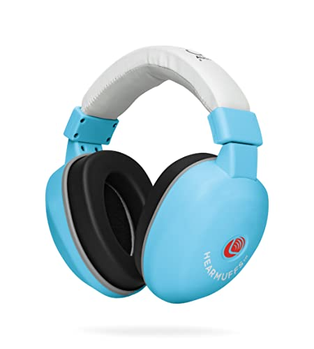 Lucid Audio HearMuffs Baby Hearing Protection Over-The-Ear Sound Protection Ear Muffs Infant Toddler Child Pastel Blue , One Size