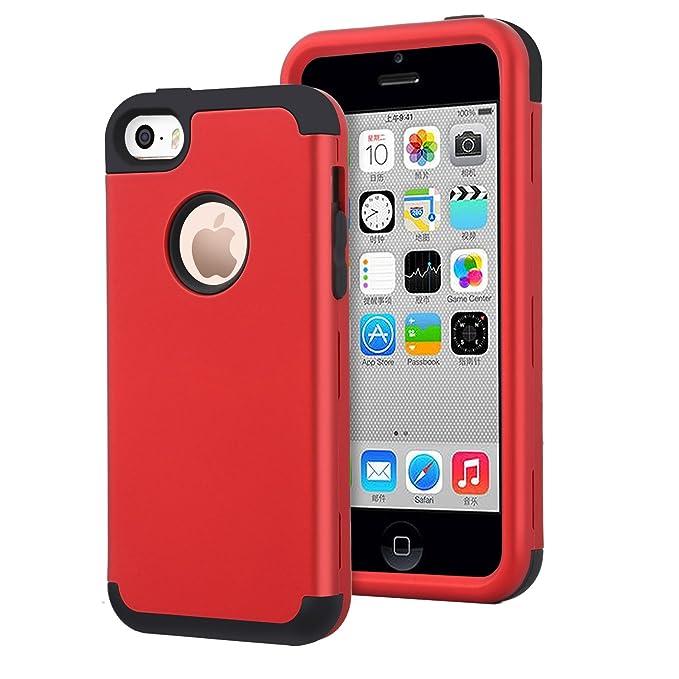 Dailylux Cover iPhone 5SCustodia iPhone SE/5Custodia Ibrida a