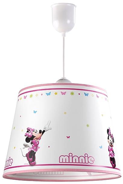 Minnie Mouse Bow Lampe Tique Plafond Dalber De Suspension m0Nv8nw