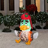3.6 ft. LED Inflatable Outdoor Duck Hunter