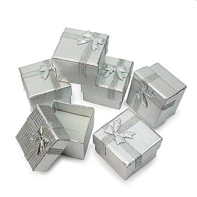 24 X Caja Cartón Estuche con Cinta Lazo Accesorio para ...