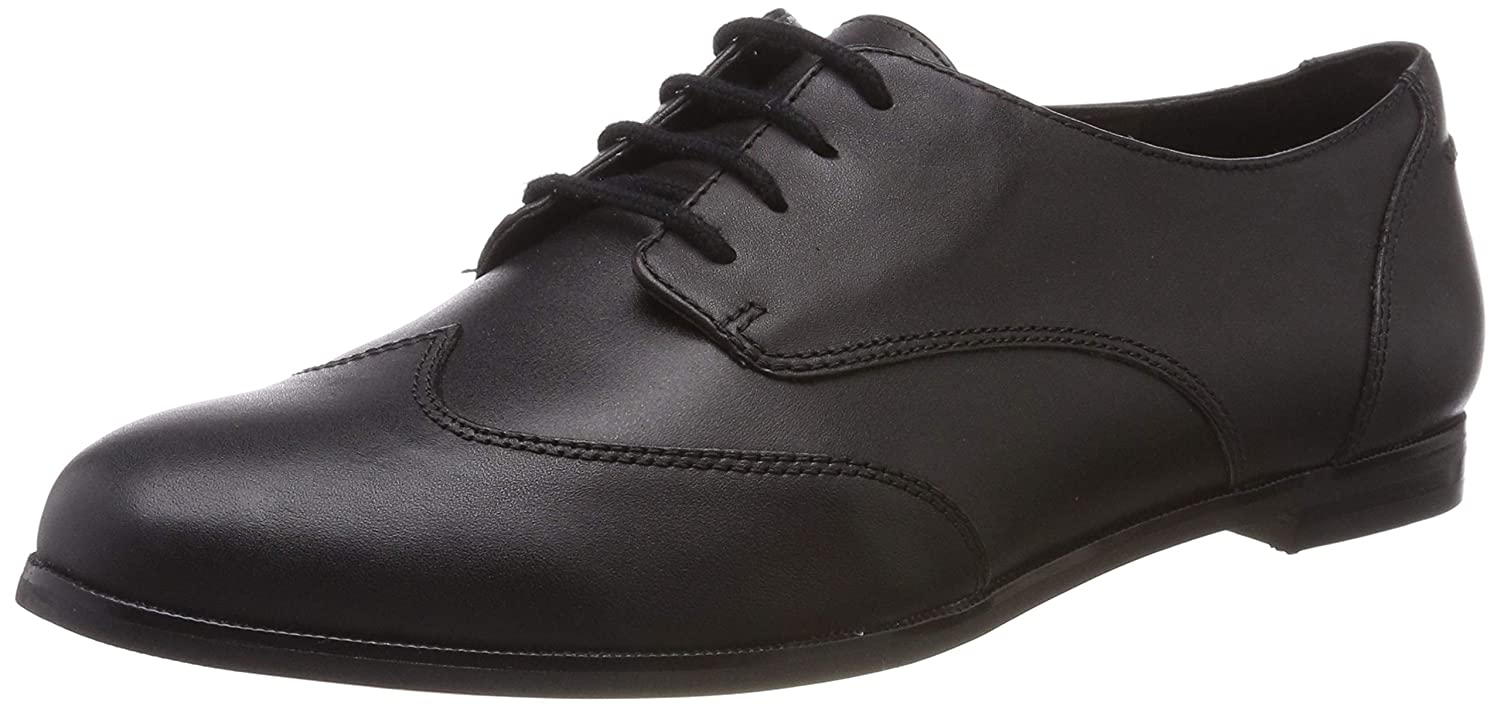 12383536d8a5e2 Clarks Women s Andora Trick Brogue Black  Amazon.co.uk  Shoes   Bags