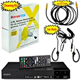 Sony BDP-S6700 4K Upscaling 3D Streaming Blu-ray Disc Player With Built In Wifi - 5 Pack Kit - Remote Control - 5 Pc Cleaning Kit - 12 FT High speed HDMI Cable - Xtreme Ear Buds (1 Year Warranty)