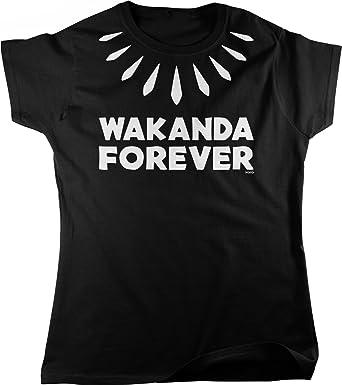e454a426 Amazon.com: NOFO Clothing Co Wakanda Forever Women's T-Shirt: Clothing