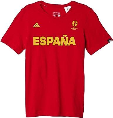adidas Spain - Camiseta Niños: Amazon.es: Zapatos y complementos