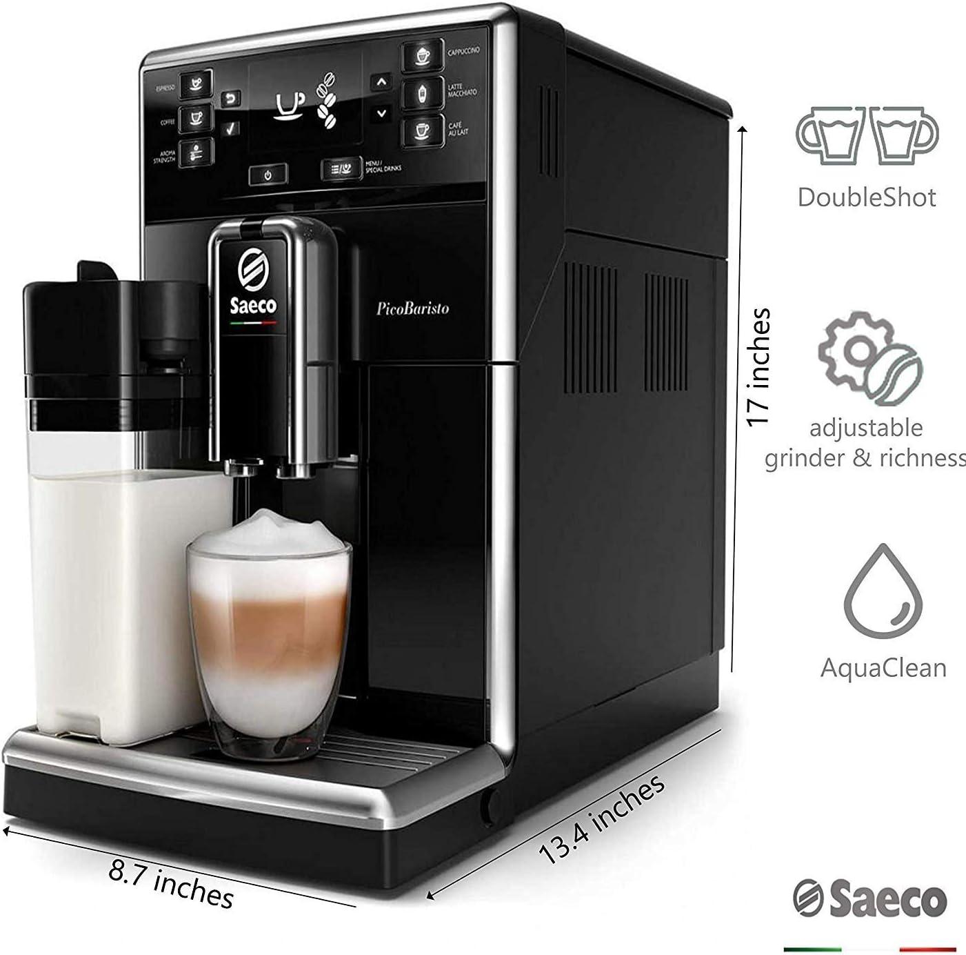 Philips Saeco PicoBaristo SM5460/10 - Cafetera Súper Automática ...