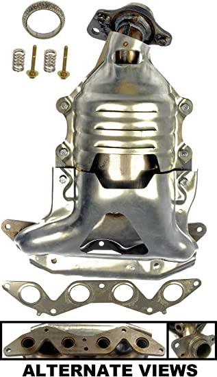 MOSTPLUS New Exhaust Manifold w//Catalytic Converter For 2001-2005 Honda Civic 1.7L Replaces 18160-PLM-A50,18160-PLM-A00