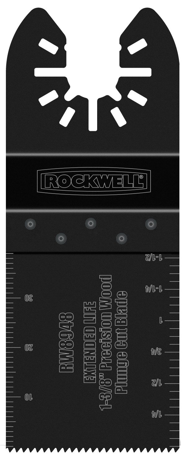 Rockwell RW8948 1-3/8-Inch Extended Life Precision Wood Plunge Cut Blade