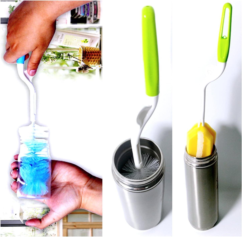 Mug bursh1 Water kettle Ladieshow Bottle Brush Straw Brush Glass Cup Brush with Straw Brush for Washing Baby Bottle