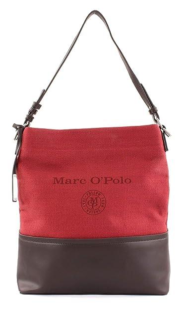 Marc OPolo Luna Bolsas de hombro rojo/negro: Amazon.es: Zapatos y ...