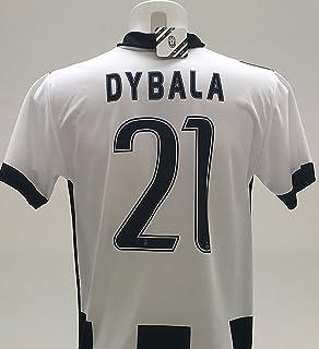 Dybala del Equipo DE FÚTBOL Juventus DE TURÍN-Camiseta Oficial, Talla DE NIÑO RÉPLICA