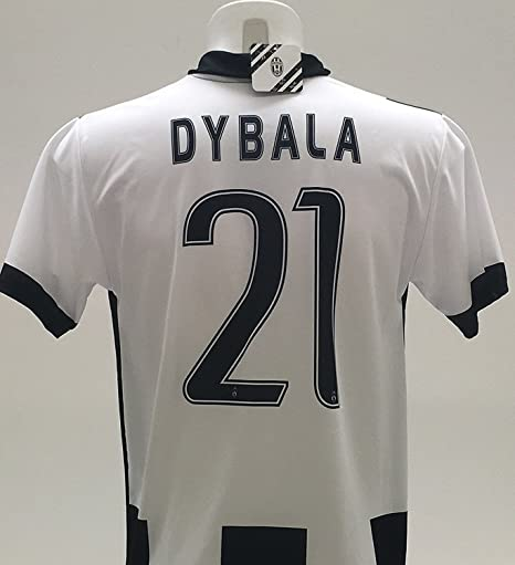 Réplica oficial del 2016-2017 de camiseta de Paulo Dybala 21, de la Juventus