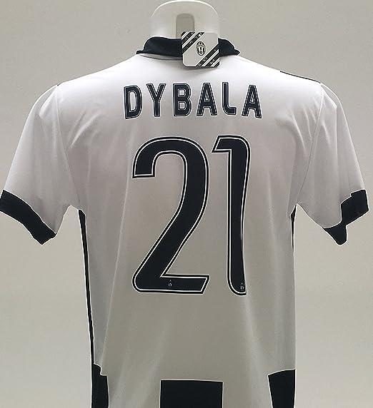Réplica oficial del 2016-2017 de camiseta de Paulo Dybala 21, de la Juventus, para niños de 12, 10, 8, 6, 4, 2 años: Amazon.es: Deportes y aire libre