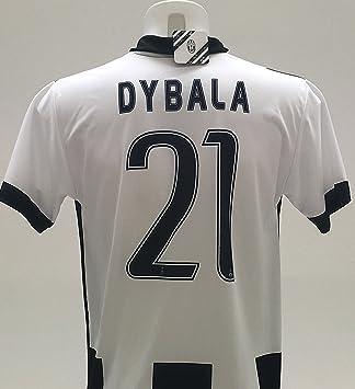 Camiseta Jersey Futbol Juventus Paulo Dybala 21 Replica Autorizado (M): Amazon.es: Deportes y aire libre