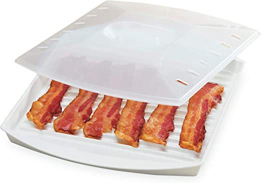 Amazon.com: Progressive Prep Soluciones Microondas Bacon ...