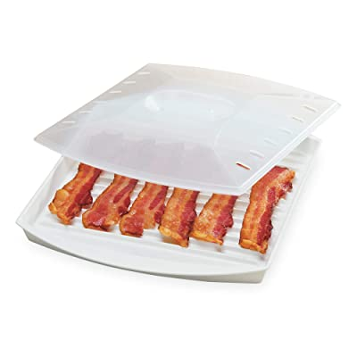 Prep Solutions By Progressive Microwave Large Bacon Grill