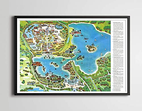 Amazon.com: Vintage 1971 DISNEY WORLD RESORT Map Poster! (up ... on animal kingdom map, hong kong disneyland map, florida map, hollywood studios map, disney world florida, disney princess map, resort map, 2012 end of world, magic kingdom map, universal studios map, walt disney 2014 2015 map, disney epcot map, disney world resort, downtown disney map, tokyo disneyland map, disney world ticket, hotels in disney world, disney world dining, typhoon lagoon map, orlando map, disney world family vacation, disney land map, wdw map, google world map, islands of adventure map, state map, sea world map, disney world discount, national geographic maps, free world map,
