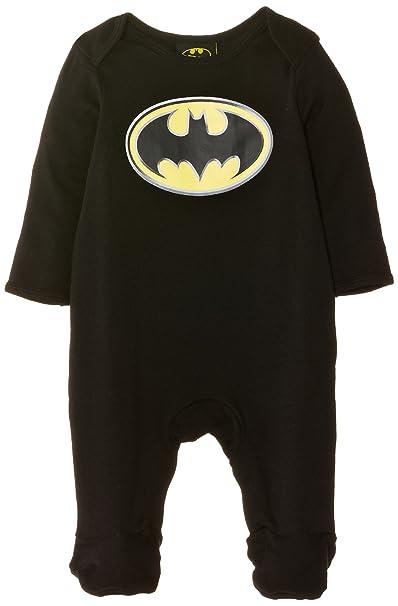 Batman Pijama para niño, Negro, Geburt