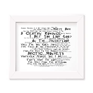 Arctic Monkeys Poster Print - Whatever People Say I Am, Thats What Im