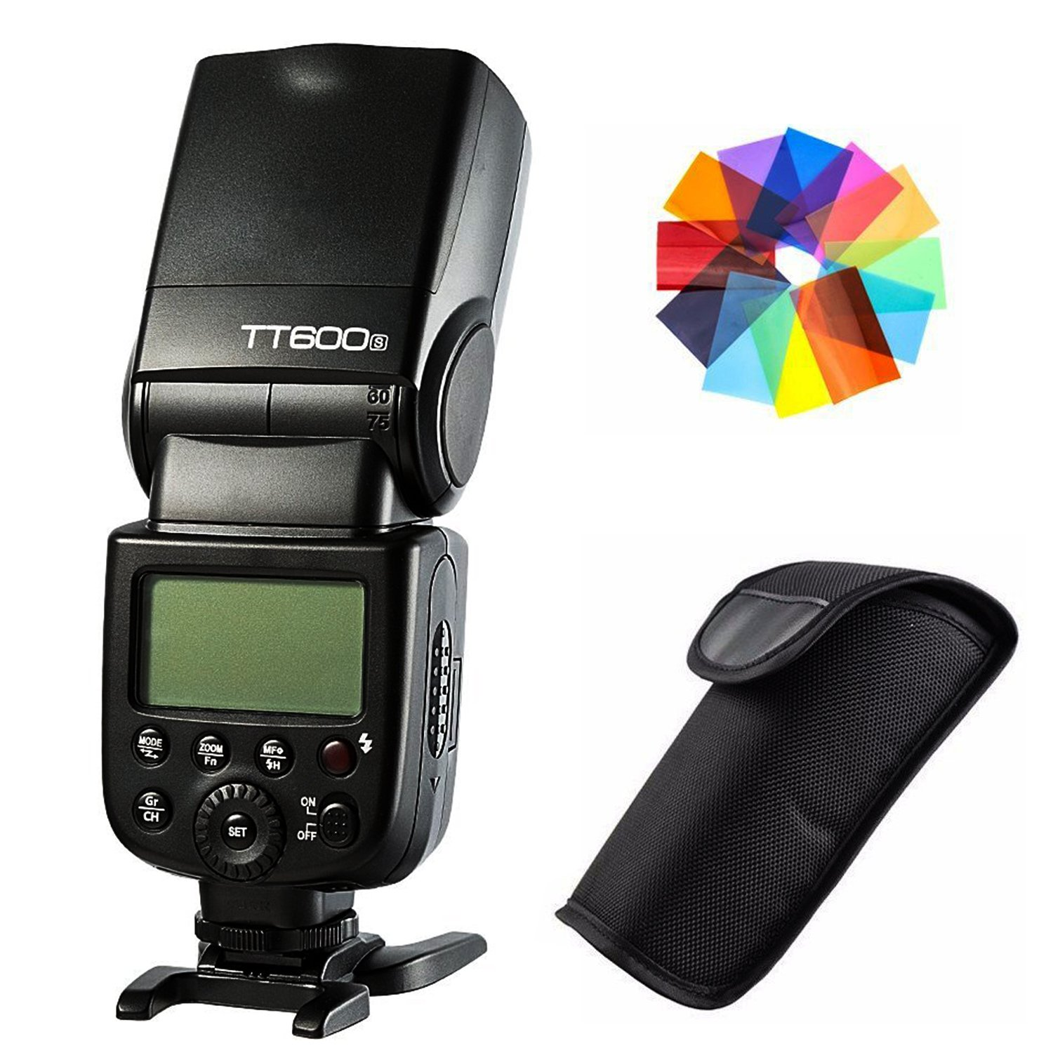 Godox tt600s gn60 2.4 Gワイヤレスフラッシュスピードライトfor Sony a7 a7r a7s a7 II a7r II a6000 DSLRカメラwith Mi Shoe   B07CTL28YW