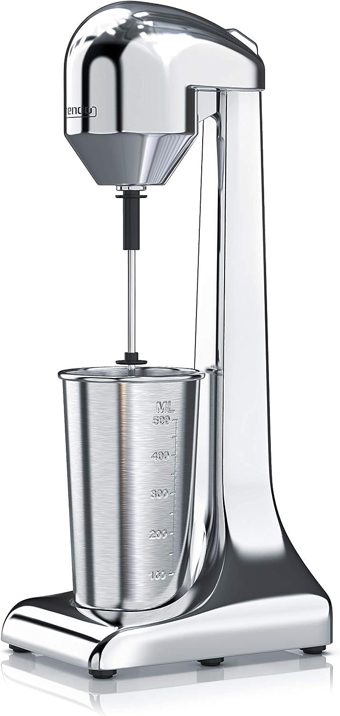 arendo – Batidora eléctrica - Mezclador de Bebidas - Recipiente de 500 ml | 100 W, 22.000 RPM, 2 Niveles de Velocidad – Prepara Bebidas de proteínas, Batidos y cócteles